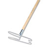Wedge Dust Mop Head Frame/Handle, 15/16 Dia. x 48 Long