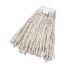 UNISAN Cut-End Wet Mop Head, Cotton, No. 24, White