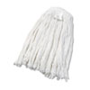 UNISAN Cut-End Wet Mop Head, Rayon, #24 Size, White