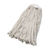 UNISAN Cut-End Wet Mop Head, Cotton, No. 32, White