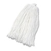 UNISAN Cut-End Wet Mop Head, Rayon, #32 Size, White