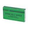 First Aid Sting Relief Pads, Box of 10