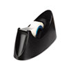 "Desktop Tape Dispenser, 1"" core, Weighted Non-Skid Base, Black"