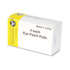 "PhysiciansCare by First Aid Only Emergency First Aid Eye Patch, 2"" x 3"", 4/Box"