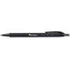 Universal Comfort Grip Ballpoint Retractable Pen, Black Ink, Medium, Dozen