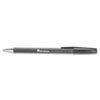 Universal Comfort Grip Ballpoint Stick Pen, Black Ink, Fine, Dozen