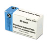 Iodine Pads, Box of 50