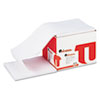 Computer Paper, 20lb, 9-1/2 x 11, Letter Trim Perforation, White, 2300 Sheets