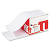 Computer Paper, 18lb, 9-1/2 x 11, Letter Trim Perforations, White, 2300 Sheets