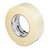 "Premium-Grade Filament Tape w/Natural Rubber Adhesive, 2"" x 60 yards"