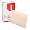 File Folders, Straight Cut, Two-Ply Top Tab, Legal, Manila, 100/Box