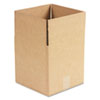 Corrugated Kraft Fixed-Depth Shipping Carton, 10w x 10l x 10h, Brown, 25/Bundle