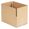 Corrugated Kraft Fixed-Depth Shipping Carton, 8w x 12l x 6h, Brown, 25/Bundle