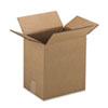 Corrugated Kraft Fixed-Depth Shipping Carton, 9w x 12l x 3h, Brown, 25/Bundle