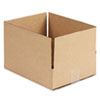 Universal Corrugated Kraft Fixed-Depth Shipping Carton, 10w x 12l x 3h, Brown, 25/Bundle