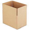 Corrugated Kraft Fixed-Depth Shipping Carton, 12w x 18l x 12h, Brown, 25/Bundle