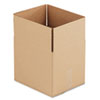 Corrugated Kraft Fixed-Depth Shipping Carton, 10w x 12l x 10h, Brown, 25/Bundle