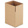 Universal Corrugated Kraft Fixed-Depth Shipping Carton,8-3/4 x 11-1/4 x 12h,BR,25/Bundle