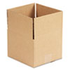 Universal Corrugated Kraft Fixed-Depth Shipping Carton, 8w x 8l x 6h, Brown, 25/Bundle