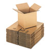 Corrugated Kraft Fixed-Depth Shipping Carton, 8w x 8l x 8h, Brown, 25/Bundle