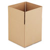 Corrugated Kraft Fixed-Depth Shipping Carton, 14w x 14l x 14h, Brown, 25/Bundle