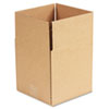 Corrugated Kraft Fixed-Depth Shipping Carton, 9w x 9l x 9h, Brown, 25/Bundle