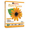 30% Recycled Copy Paper, 92 Brightness, 20lb, 8-1/2 x 11, White, 5000/Carton