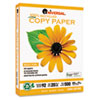 Universal 100% Recycled Copy Paper, 92 Brightness, 20lb, 8-1/2 x 11, White, 5000 Shts/Ctn