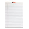 Perforated Edge Writing Pad, Legal Ruled, Letter, White, 50-Sheet, Dozen