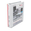 Universal One Economy D-Ring Vinyl View Binder, 1-1/2