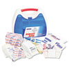 ReadyCare First Aid Kit for up to 25 People, Contains 182 Pieces