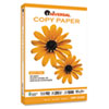 Universal Copy Paper, 92 Brightness, 20lb, 8-1/2 x 14, White, 5000 Sheets/Carton