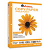 Copy Paper, 92 Brightness, 20lb, 8-1/2 x 11, 3-Hole Punch, White, 5000 Shts/Ctn