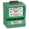 Acroprint 011070413 Model 125 Analog Manual Print Time Clock with Month/Date/0-23 Hours/Minutes ACP011070413 ACP 011070413