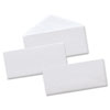 Universal Security Tinted Business Envelope, V-Flap, #10, White, 500/Box