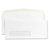 Universal Window Business Envelope, Contemporary, #9, White, 500/Box