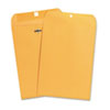 Kraft Clasp Envelope, Side Seam, 28lb, 7 1/2 x 10 1/2, Light Brown, 100/Box