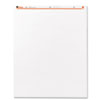 Universal Recycled Easel Pads, Unruled, 27 x 34, White, 50-Sheet 2/Carton