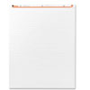 Recycled Easel Pads, Faint Rule, 27 x 34, White, 50-Sheet 2/Carton