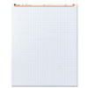 Universal Recycled Easel Pads, Quadrille Rule, 27 x 34, White, 50-Sheet 2/Ctn