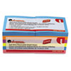 Universal Standard Self-Stick Bright Pads, 3 x 3, 4 Colors, 12 100-Sheet Pads/Pack