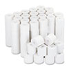 "Adding Machine/Calculator Roll, 16 lb, 1/2"" Core, 2-1/4"" x 126 ft,White, 100/CT"