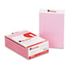 Colored Perforated Note Pads, Wide Rule, 5 x 8, Pink, 50-Sheet, Dozen