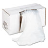 High-Density Shredder Bags, 26w x 18d x 48h, 100 Bags/Carton, Clear