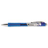 Roller Ball Retractable Gel Pen, Blue Ink, Medium, Dozen