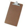 Universal 40305 Hardboard Clipboard, 1-1/4