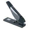 Universal One Plastic/Metal Heavy-Duty Stapler, 200-Sheet Capacity, Black/Graphite