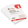Universal Loose Memo Sheets, 4 x6, White, 200 Sheets/Pack