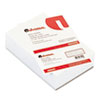 Universal Loose Memo Sheets, 4 x6, White, 500 Sheets/Pack