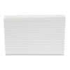 Ruled Index Cards, 4 x 6, White, 500/Pack